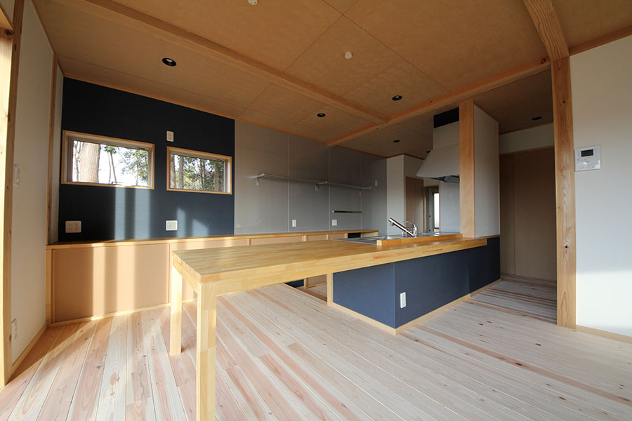 眺望の良い2Fお風呂の家
