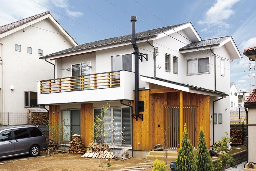 趣味を愉しむ土間の家