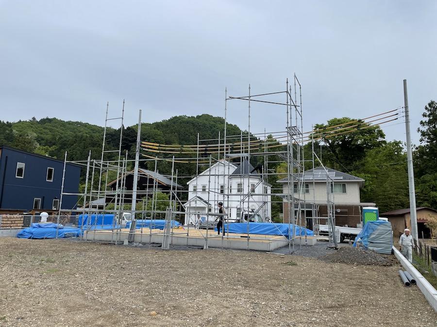 原市場の家〜足場工事〜